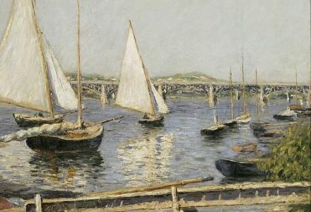 古斯塔夫·盖里伯特 帆船